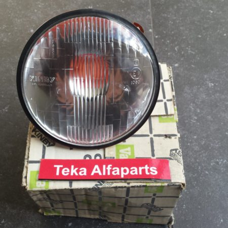 Alfa Romeo Headlight Valeo Kinby Faessa Carello