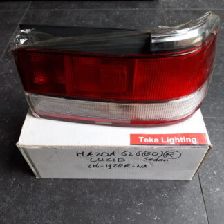 Mazda 626 GD Taillight Lucid 012161928R White Right